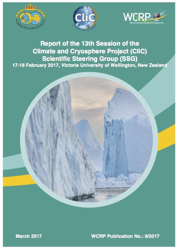 CliC SSG 13 Report