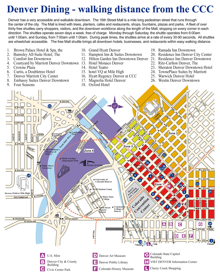 Denver Map: WCRP Open Science Conference