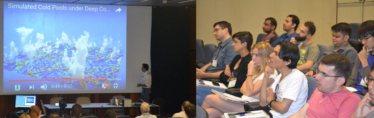 Photo of 2018 WCRP modeling summer school audiences