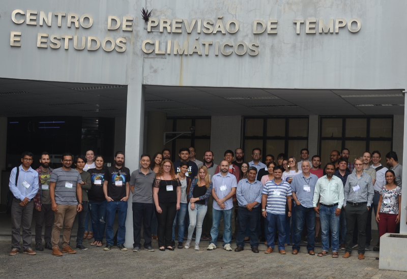 Group photo: 2018 WCRP modeling summer school