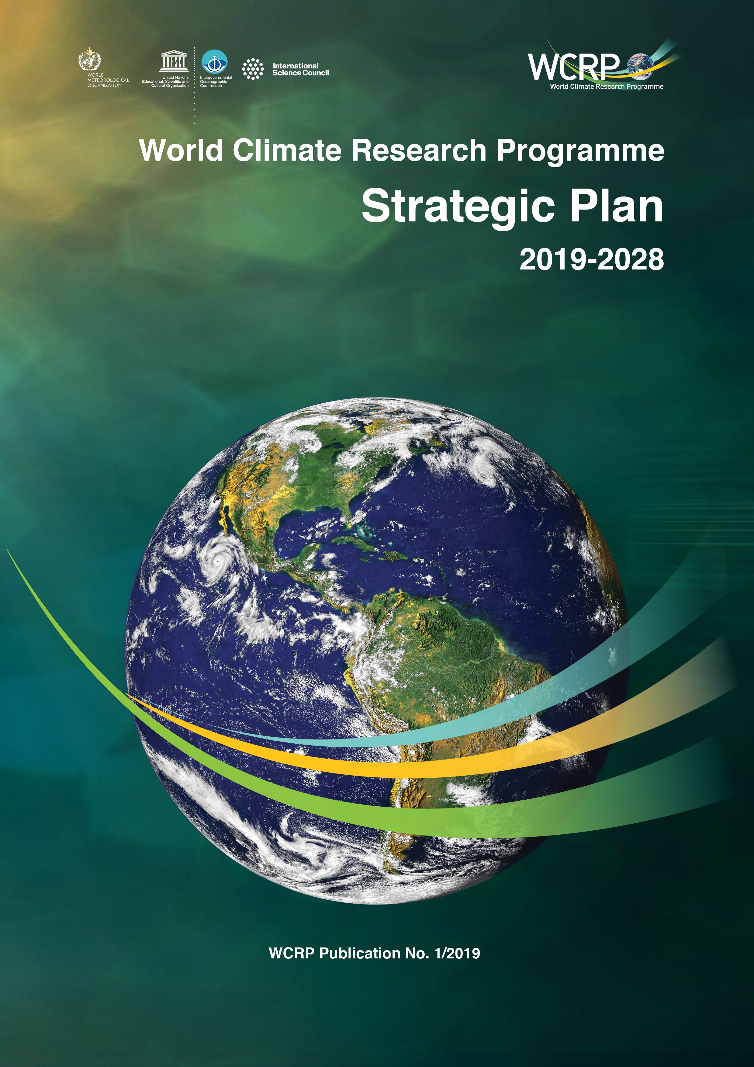 WCRP Strategic Plan Cover