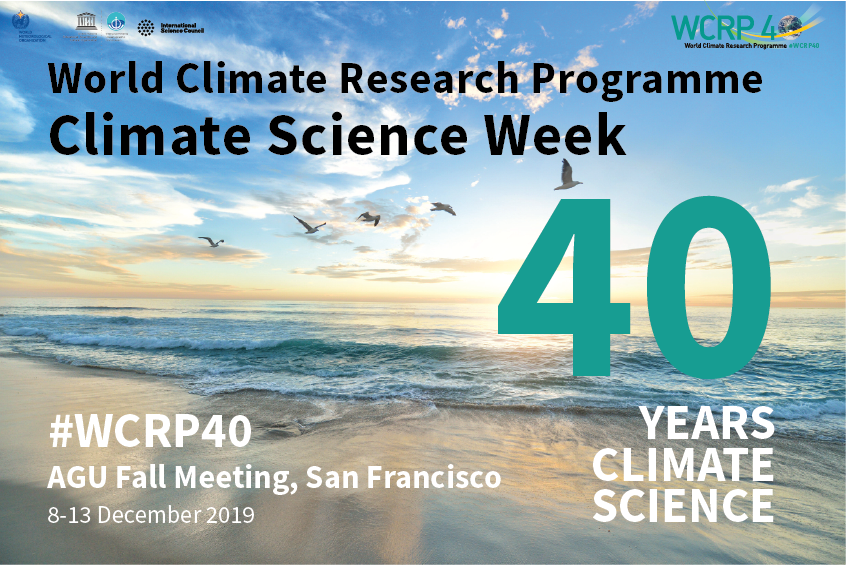 WCRP Climate Science Week