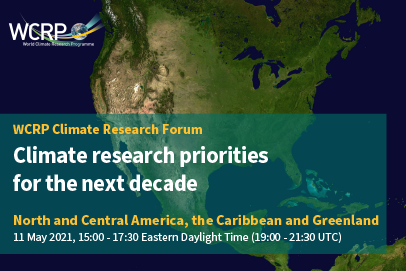 WCRP Climate Research Forum for North and Central America