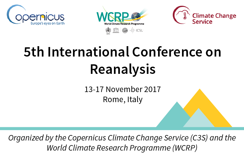 5th International Conference on Reanalysis