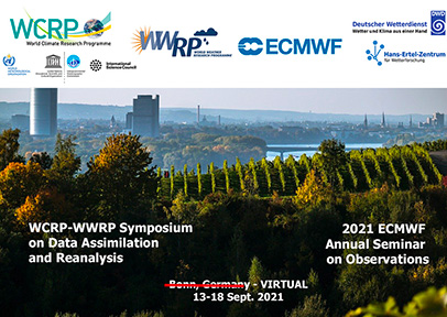 WCRP-WWRP Symposium on Data Assimilation and Reanalysis