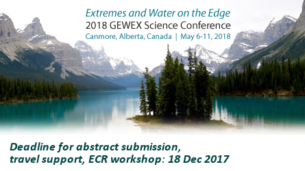 8th GEWEX Science Conference: Extremes and Water on the Edge