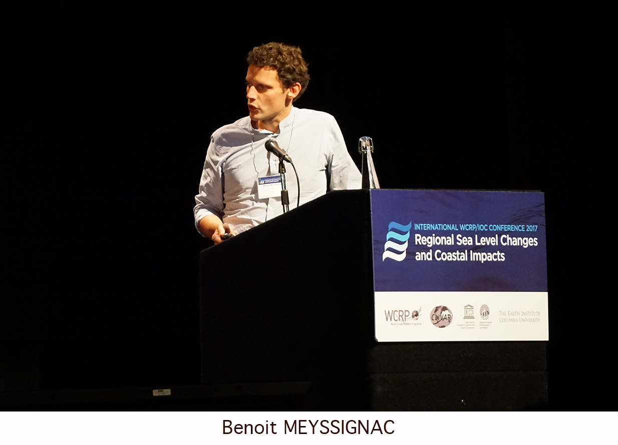 Day 2 of the Regional Sea Level Changes and Coastal Impacts Conference - Benoit Messignac