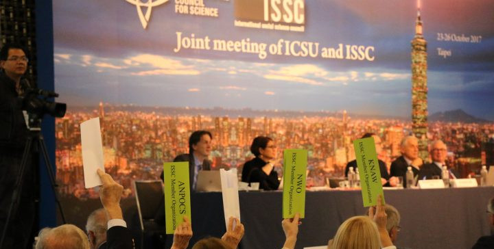 ICSU ISSC merger vote taipei