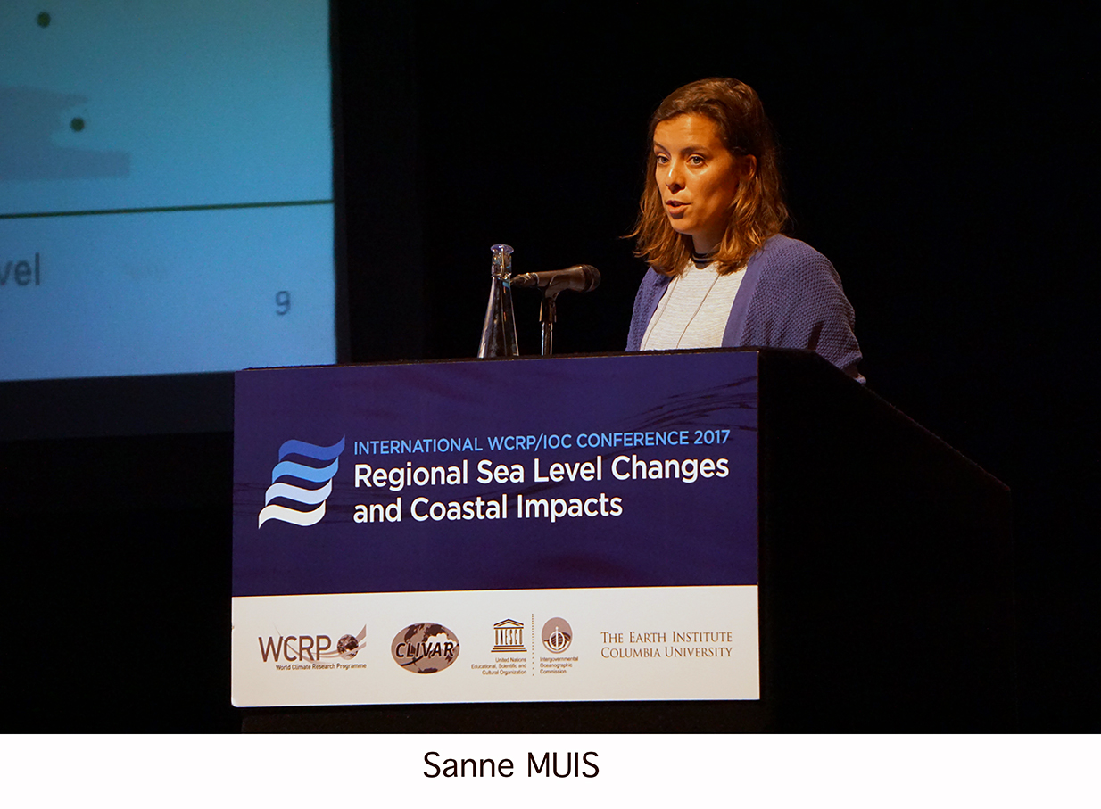 Day 2 of the Regional Sea Level Changes and Coastal Impacts Conference - Sanne Muis