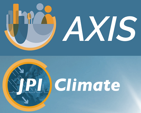 Logos JPI Climate and AXIS