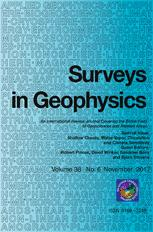 Surveys in Geophysics Cover Page
