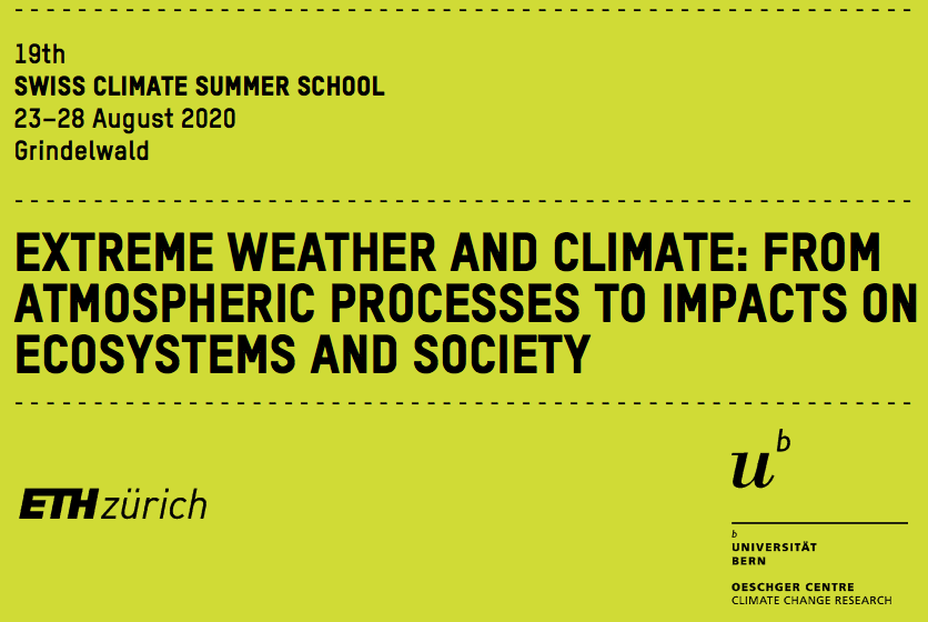 19th Swiss Climate Summer School 2020