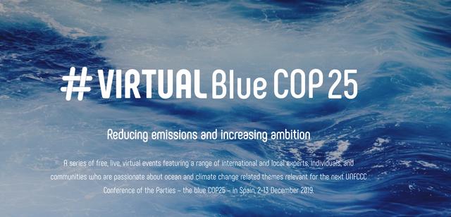 Virtual Blue COP 25: 24-H Ocean Day Event