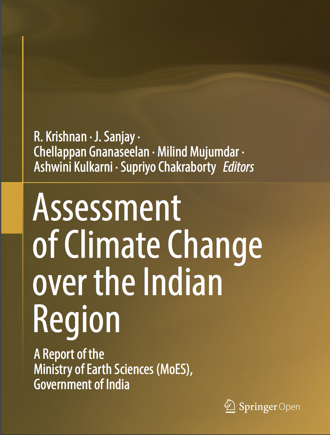 Assessment of climate change over the Indian region
