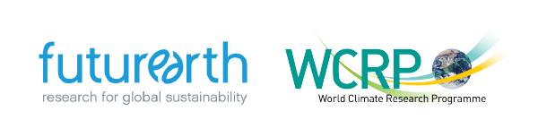 Future Earth and WCRP logos