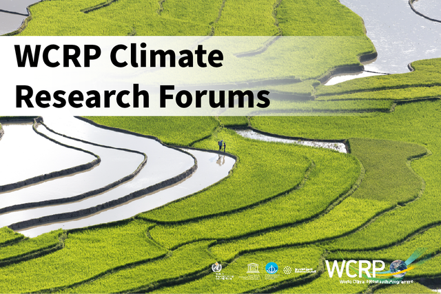 WCRP Climate Research Forums