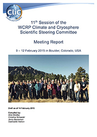 CliC 11th Scientific Steering Group 2015