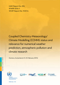 GAW Coupled Chemistry-Meterorology/Climate Modelling 2015