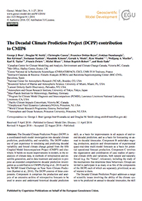 The Decadal Climate Prediction Project (DCPP) contribution to CMIP6