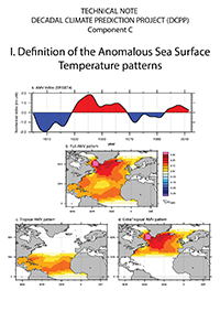 Definition of the Anomalous Sea Surface Temperature patterns